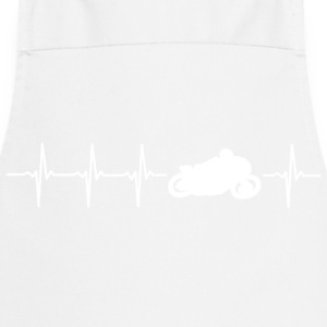 I love motorcycling (motor heartbeat) - Cooking Apron