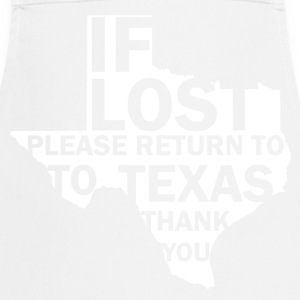 If lost Texas - Keukenschort