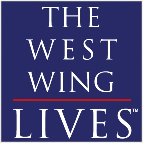 The West Wing Lives (Blue) - Cooking Apron