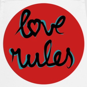 Love rules - Cooking Apron