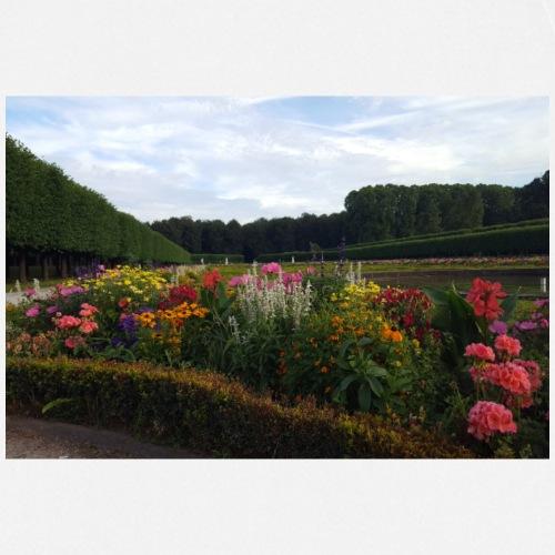 Blumen im Park - Kochschürze