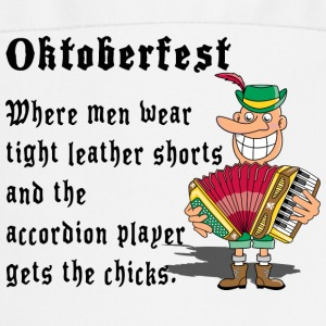Oktoberfest Accordion Player - Tablier de cuisine
