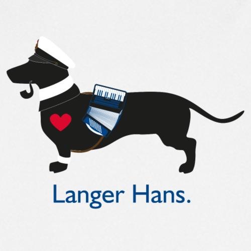 Dackel Langer Hans - Unser Hamburger Jung - Kochschürze
