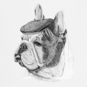 French Bulldog m / rapport - Kokkeforkle