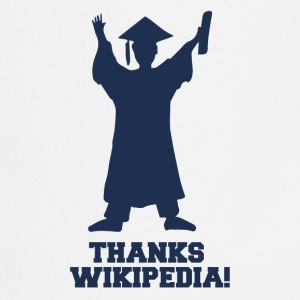 High School / Graduation: Thanks Wiki.pedia! - Cooking Apron