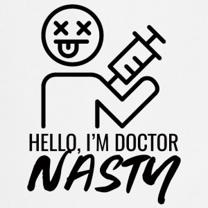 Arts / Doctor: Hallo, ik ben arts Nasty - Keukenschort