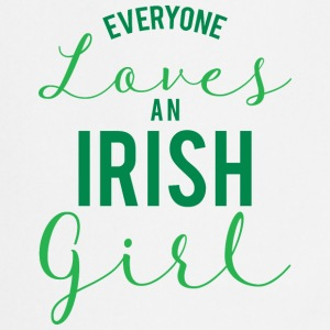 Ireland / St. Patrick's Day: Everyone Loves An Iris - Cooking Apron
