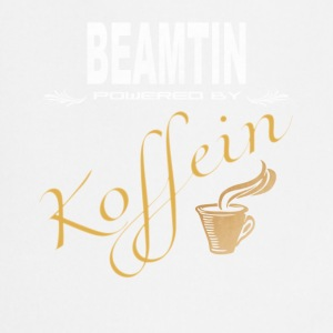 Beamtin powered by Koffein Shirt - Kochschürze