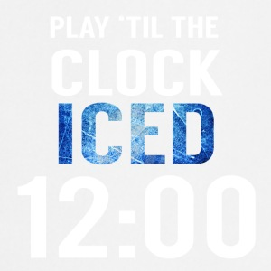 Eishockey: Play ´til the clock iced 12:00 - Kochschürze