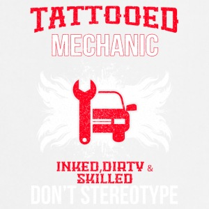 TATTOOED MECHANIC - Keukenschort
