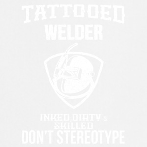 TATTOOED WELDER - Keukenschort