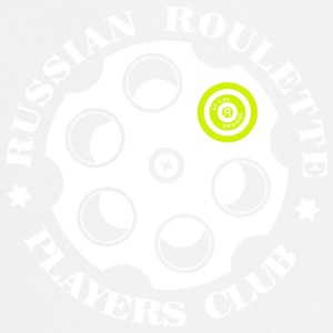 Russisk Roulette Players Club logo 4 Sort - Forklæde