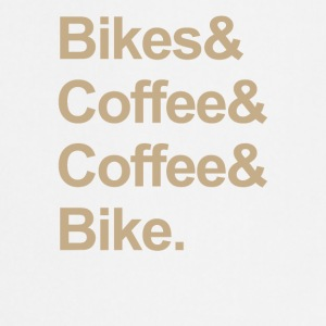BIKE & CAFÉ - Tablier de cuisine