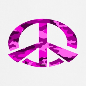 Peace - Pink Camo Edition - Cooking Apron