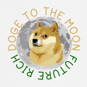 DOGE TO THE MOON - Cooking Apron