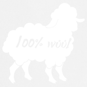 Sheep / farm: 100% Wool - Cooking Apron
