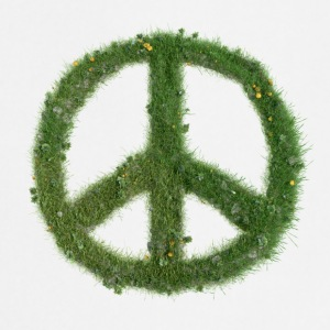 Peace - Pelouse - Tablier de cuisine
