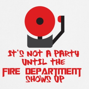 Fire Department: It's not a party until the fire - Cooking Apron
