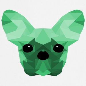 French Bulldog Low Poly Design turkis - Kokkeforkle