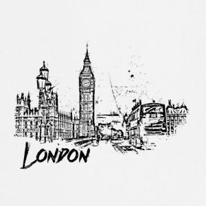 London Cityscape sketch - Förkläde