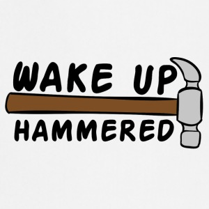 Blacharstwo: Wake Up Hammered - Fartuch kuchenny