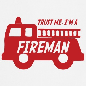Fire Department: Trust me, I'ma Fireman - Cooking Apron