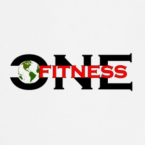 ONE FITNESS Logo - Keukenschort