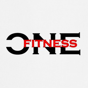 ONE FITNESS Logo (Without Globe) - Forklæde