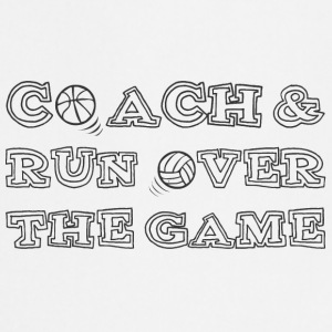 Coach / tränare: Coach & Run Over The Game - Förkläde