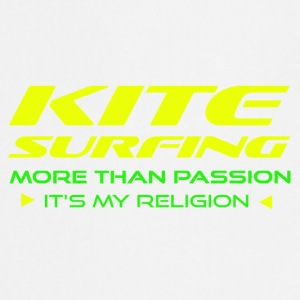 KITESURFING - PLUS DE PASSION - ITS MY RELIGION - Tablier de cuisine