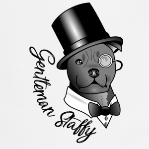 gentleman Staffy - Keukenschort