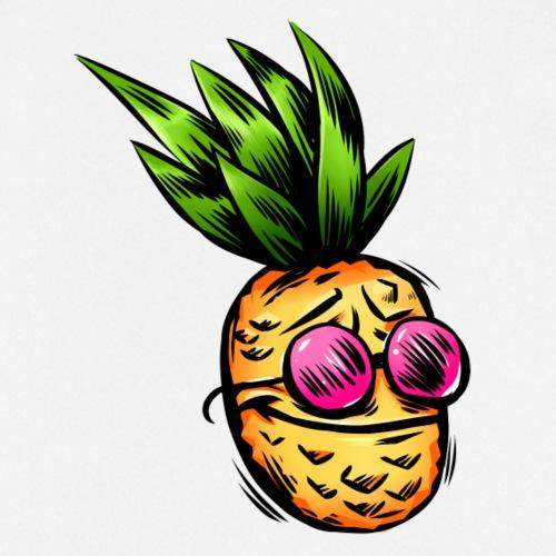 Ananas mit Sonnenbrille - Kochschürze