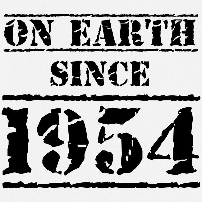 on Earth since 1954 65 Geburtstag Happy Birthday