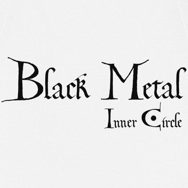 black metal Inner Circle, black ink