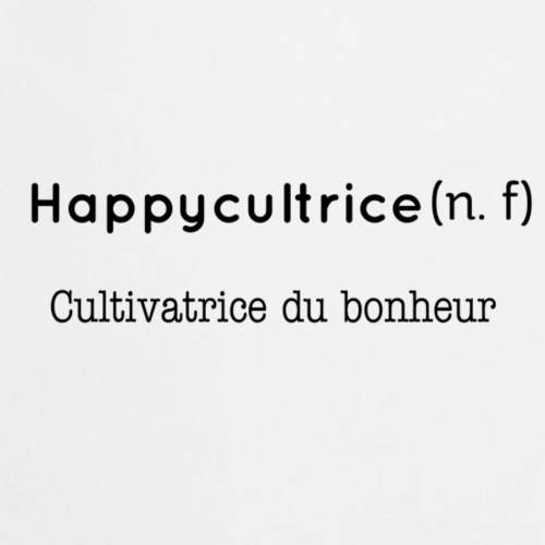 Happycultrice - Tablier de cuisine
