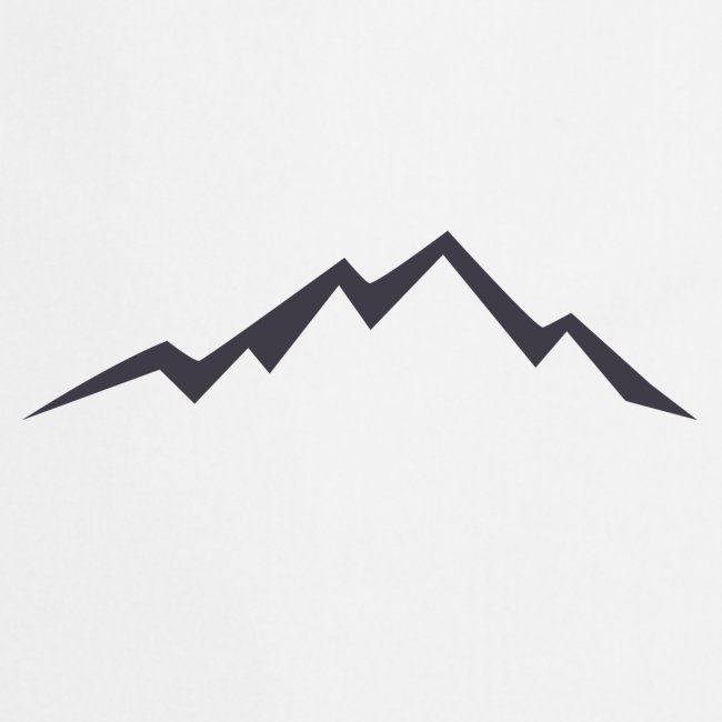 swiss alps clipart sihllouette ski mountains