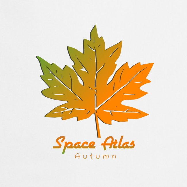 Space Atlas Long Sleeve T-shirt Autumn Leaves