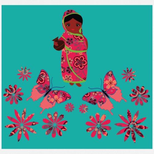 Lovedesh Art: Ira Kolshi Doll & Butterflies - Cooking Apron