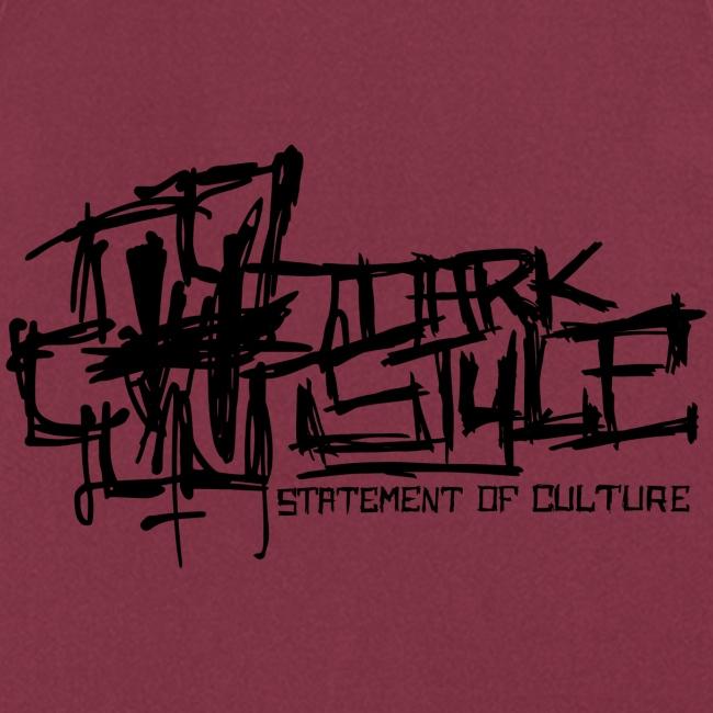 Tumma Style - Statement of Culture (musta)