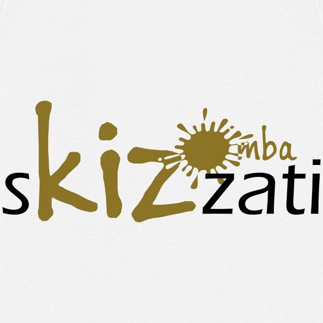 Beanie in jersey con logo sKizzati Kizomba - Verde