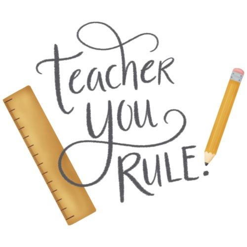 Teacher you rule - Förkläde