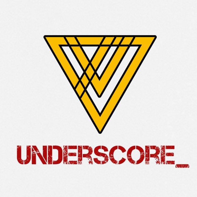 Underscore Yellow Red