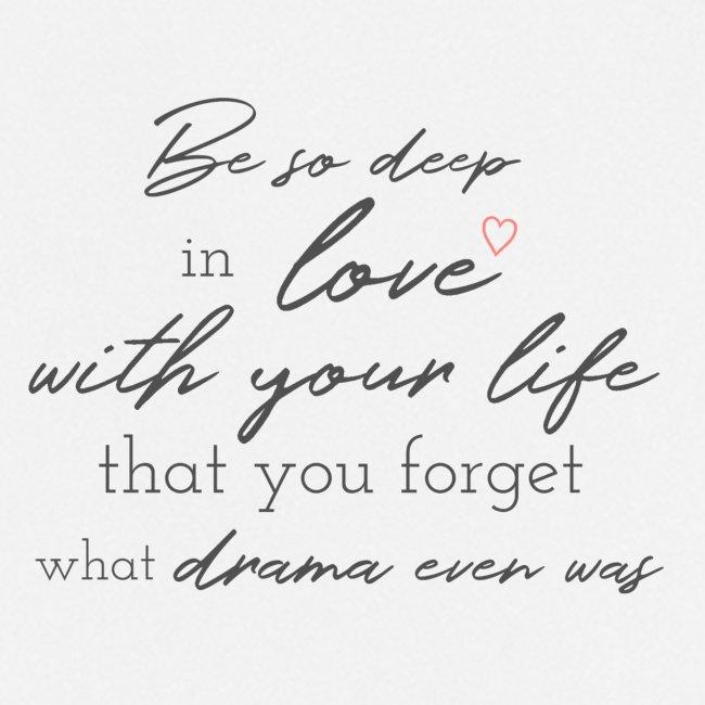 Love life grey