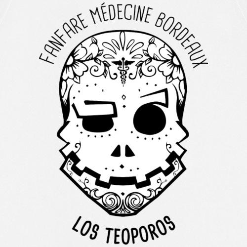 Los Teoporos Calavera 1 Positif - Tablier de cuisine