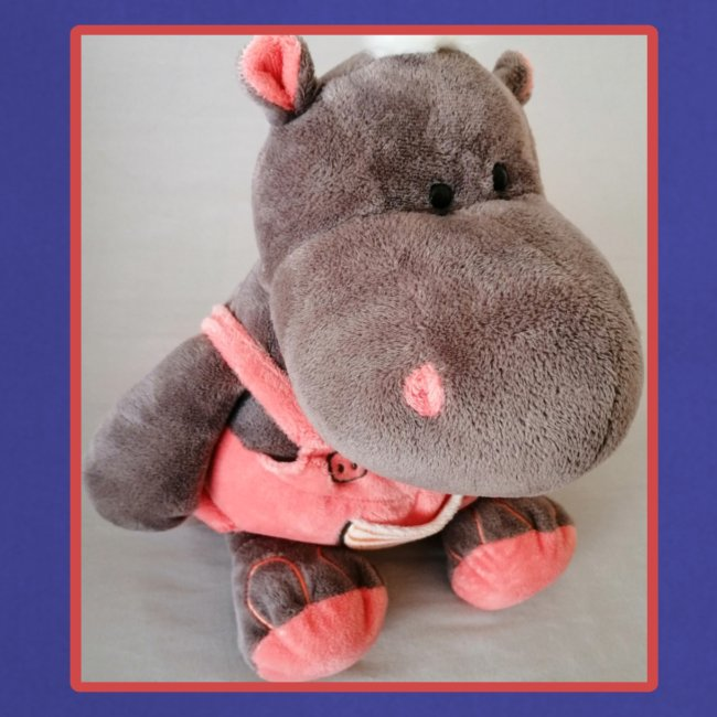 H I P P O (HIPPOLINCHEN mit Latzhose)