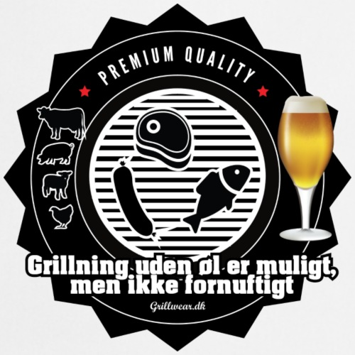 GRILLUDENØL png - Forklæde