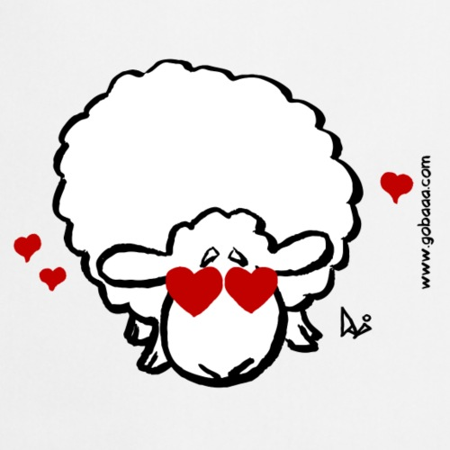 Eye Love Ewe - Grembiule da cucina