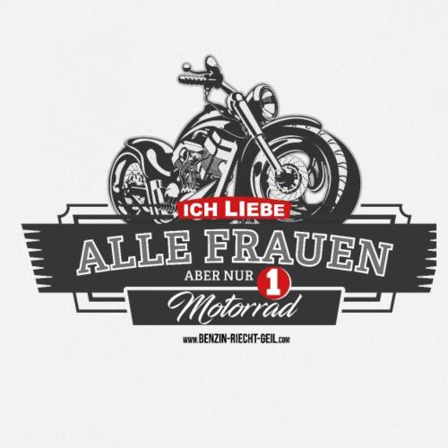 Ich liebe alle Frauen, aber nur 1 Motorrad - Kochschürze