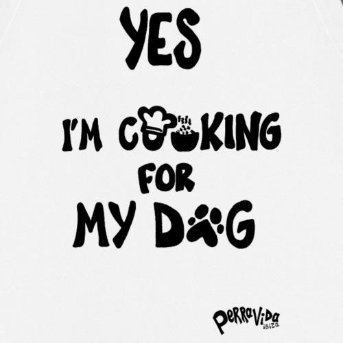 Chef de perro - Delantal de cocina