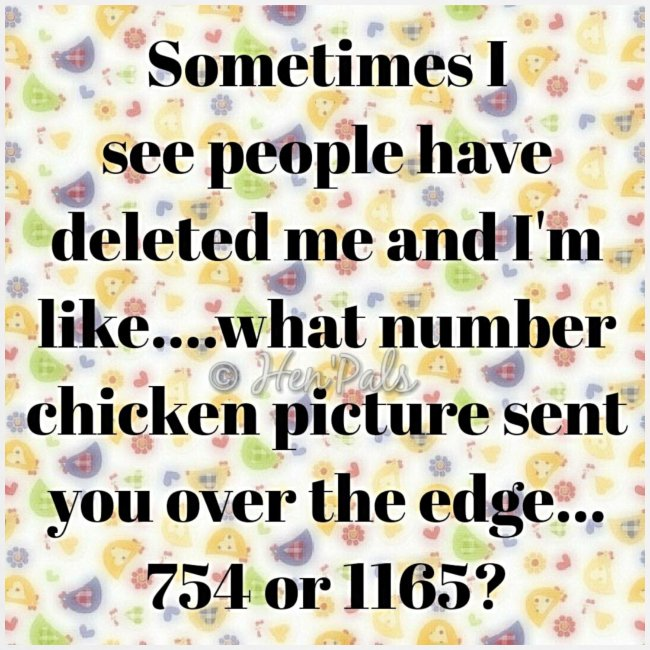Poultry Facebook issues